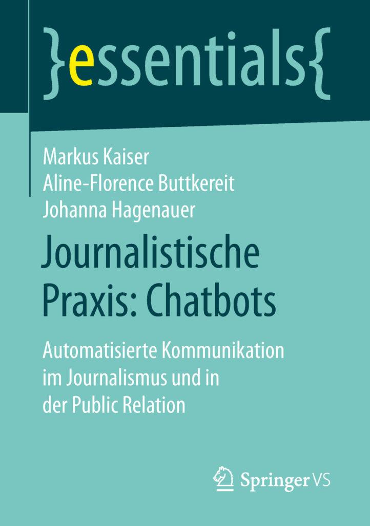 cover essentials journalistische praxis chatbots