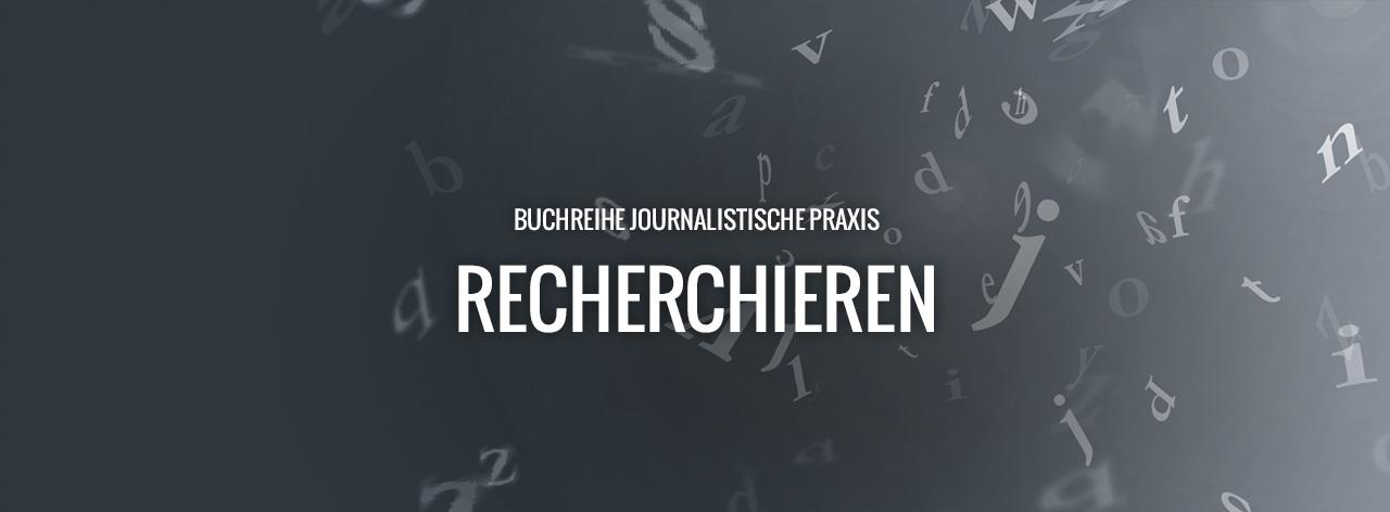 journalistische praxis, gelbe reihe, recherchieren, kaiser