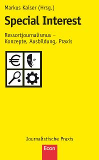 Cover des Bandes Special Interest aus der Gelben Reihe Journalistische Praxis